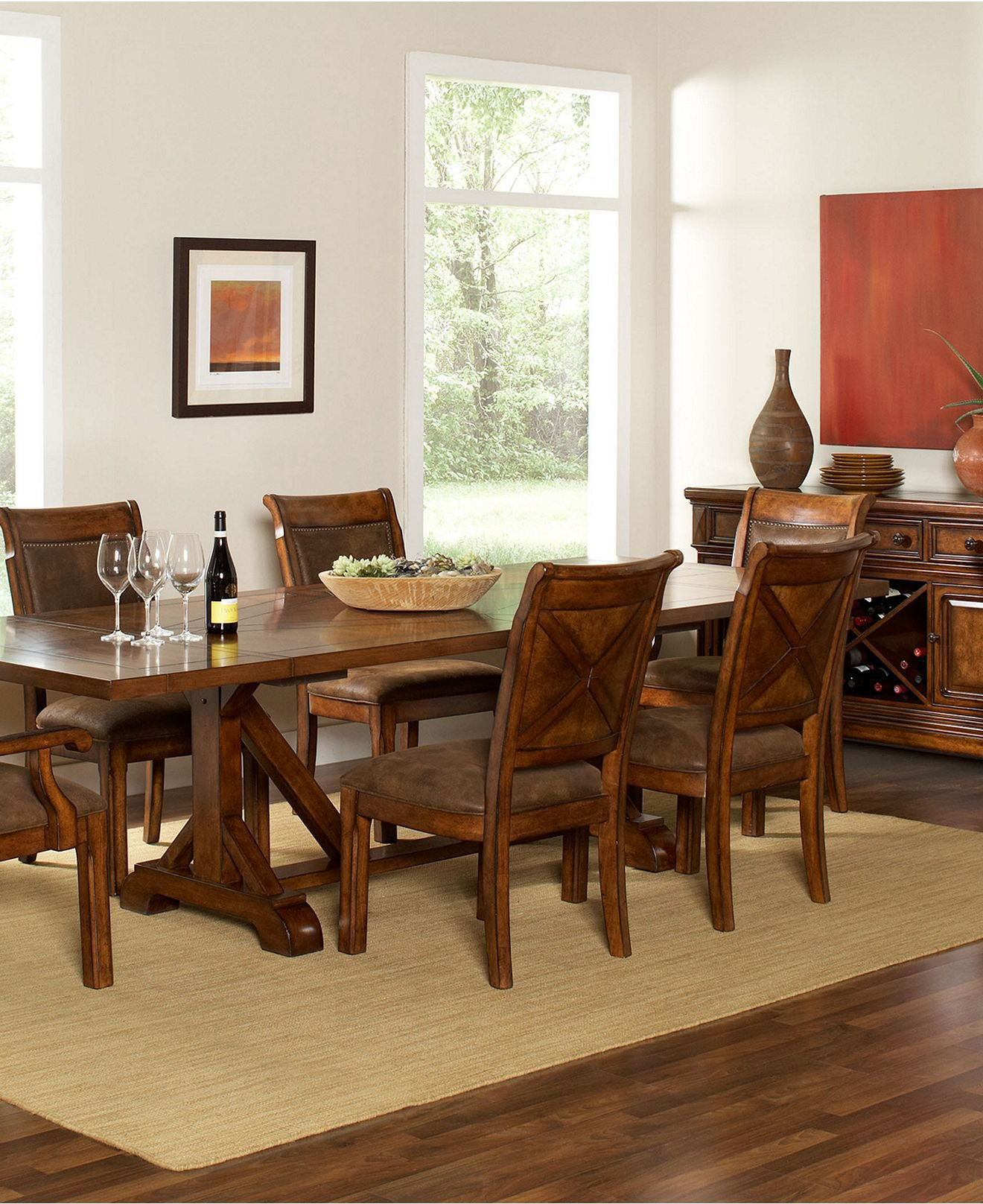 Mandara Dining Room Furniture Collection from Macys The  : original from wanelo.com size 1320 x 1616 jpeg 325kB