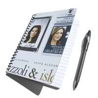 Rizzoli and Isles UpCycled Notebook Journal Diary