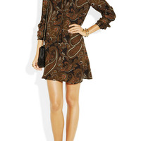 A.L.C. | Ellis paisley-print silk-georgette dress | NET-A-PORTER.COM