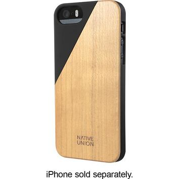 Native Union - CLIC Wooden Case for Apple® iPhone® 5 and 5s - Black