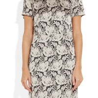 Stella McCartney | Lace-print silk-satin dress | NET-A-PORTER.COM