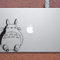Black Vinyl Totoro Decal by SGgrafix on Etsy