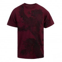 Game of Thrones Distressed Lannister Sigil T-Shirt