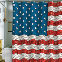 Bianca Green USA Shower Curtain | DENY Designs Home Accessories
