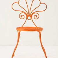 Le Versha Chair, Orange - Anthropologie.com