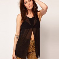 Cheap Monday Top With Open Front at asos.com