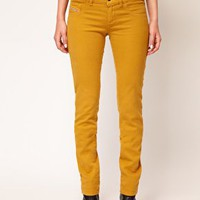 Diesel Livier Coloured Skinny Jean at asos.com