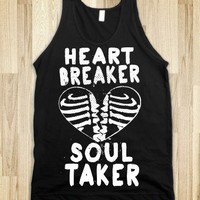Heart Breaker, Soul Taker (Dark Tank) - Ladies Costumes and Awesome Shirts
