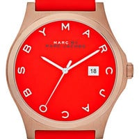 MARC BY MARC JACOBS &#x27;Henry&#x27; Leather Strap Watch | Nordstrom