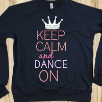 Keep Calm Dance On Tee - C's Boutique