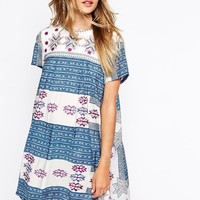 Little White Lies Dress In All Over Embroidery