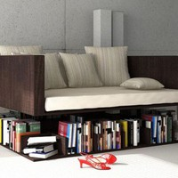 SOFA+BOOKSHELF