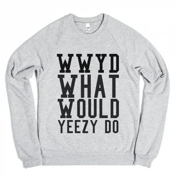 Wwyd-Unisex Heather Grey Sweatshirt