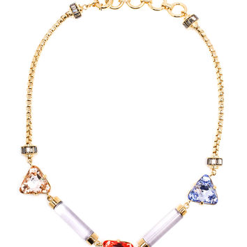 Judi Swarovski and Resin Necklace - VALENTINA BRUGNATELLI