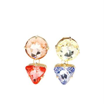 Julianne Swarovski Crystal Earrings - VALENTINA BRUGNATELLI