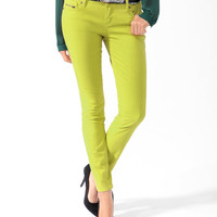 Life In Progress™ Zip Pocket Colored Skinny Jeans
