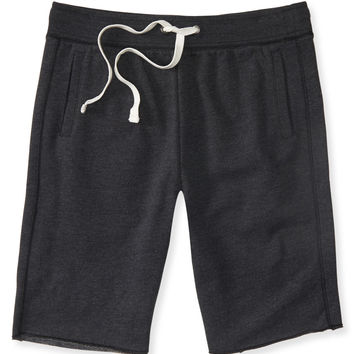 Aeropostale  Solid Jogger Shorts - Black, X-Small