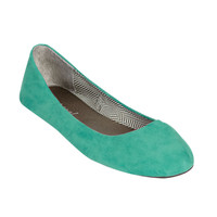 Faux Suede Skimmer | Shop Shoes at Wet Seal