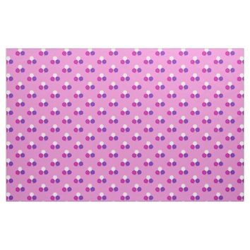 Purple, Pink And White Balloon Bouquet Fabric 2