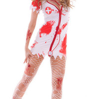 Bloody Nurse Costume