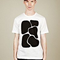 COMME des GARCONS SHIRT Men's Pigment Print T-Shirt in neutral