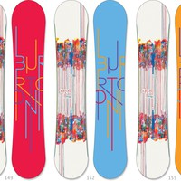 Burton Feelgood Flying V Snowboard - Women's - 2012/2013