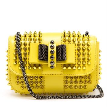 Sweety Charity Spiked Bag - CHRISTIAN LOUBOUTIN
