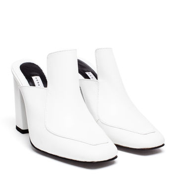 Munise Leather Mules - DORATEYMUR