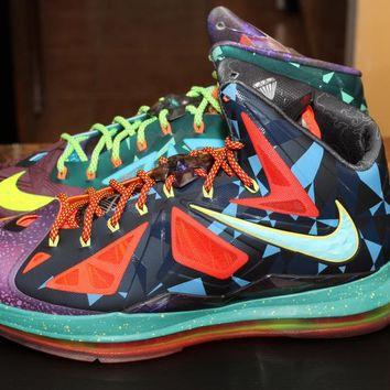 NIKE LEBRON X PREMIUM MVP SIZE 11 DS 100% AUTHENTIC ITEM #