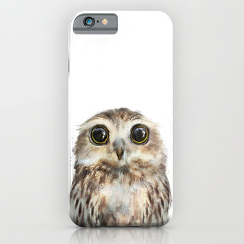Little Owl iPhone & iPod Case by Amy Hamilton