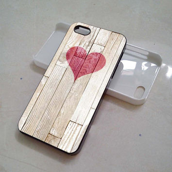 wooden heart iphone 4/4s/5/5c/5s case, wooden heart samsung galaxy s3/s4/s5, wooden heart samsung galaxy s3 mini/s4 mini, wooden heart samsung galaxy note 2/3