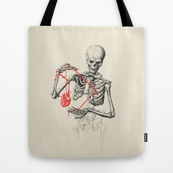 I need a heart to feel complete Tote Bag by 38 Sunsets
