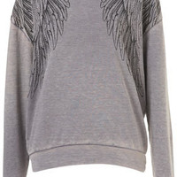 Wings Burnout Sweat