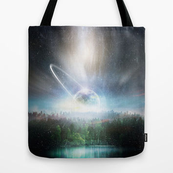 Death cup Tote Bag by HappyMelvin