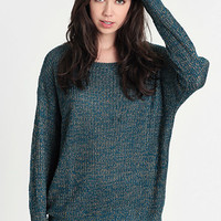 Facing Facts Marled Sweater - $36.00: ThreadSence, Women&#x27;s Indie &amp; Bohemian Clothing, Dresses, &amp; Accessories