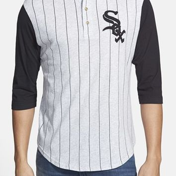 Men's Red Jacket 'Chicago White Sox - Double Play' Jersey Henley,