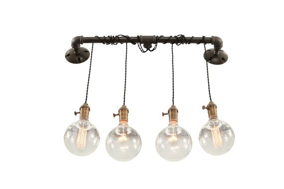 Industrial Wall LIght - Vanity Light - from West Ninth Vintage