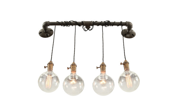 Industrial Modern Vanity Lights : Industrial Wall LIght - Vanity Light - from West Ninth Vintage