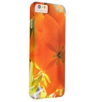 Orange Flower iPhone 6 Plus Case
