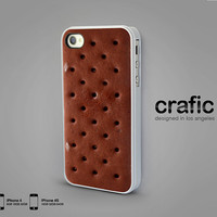 Ice Cream Sandwich iPhone Case - iPhone 4 case iPhone 4s case