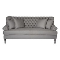 Slate Tufted Sofa