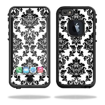Mightyskins Protective Vinyl Skin Decal Cover for Lifeproof iPhone 6 Case fre Cover wrap sticker skins Vintage Damask