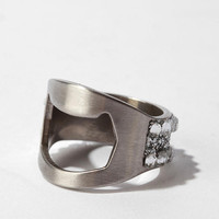 Bling Bottle Opener Ring