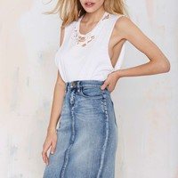 Cry Baby Denim Skirt