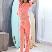 Mixed-knit Pajama Pant - Victoria's Secret