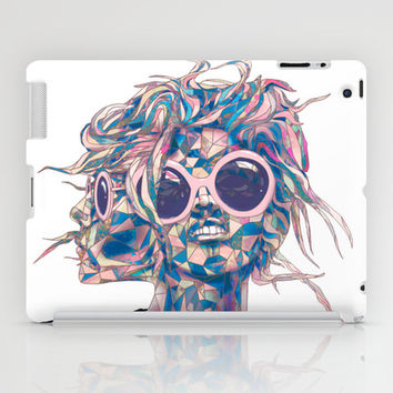 Pastel Light Four Eyes iPad Case by Ben Geiger