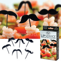LIP SERVICE MUSTACHE PICKS
