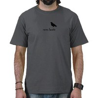 Raven Lunatic Shirt from Zazzle.com