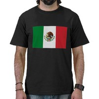 Mexico Flag T-shirt from Zazzle.com
