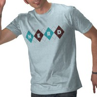 Argyle Nerd Shirts from Zazzle.com